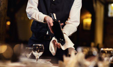 Курс для официантов по работе с вином